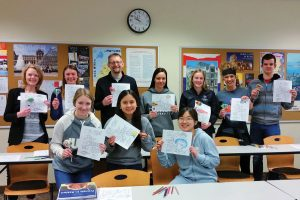 French 102 Brings Faculty and Students Together