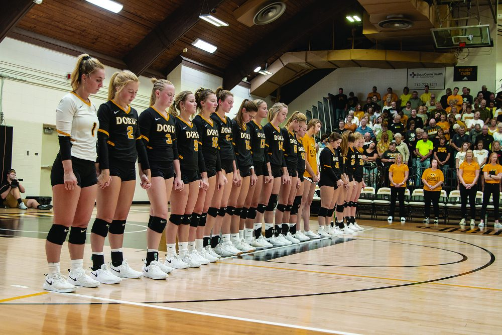 Women's Volleyball Scores Triple-Double