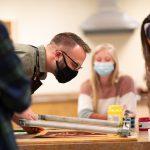 Screen-Printing Gives Art Students New Option